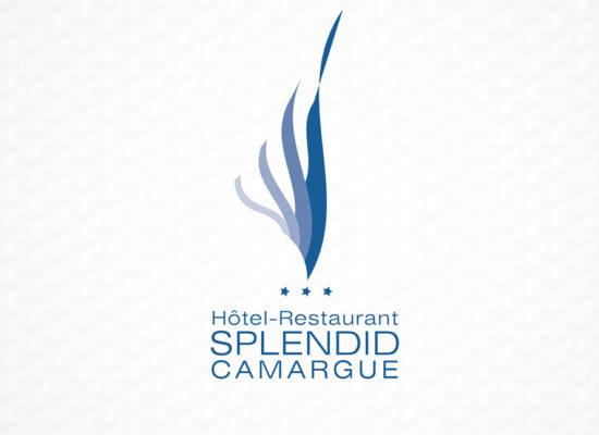 logo Splendid Hotel Camargue creation graphisme