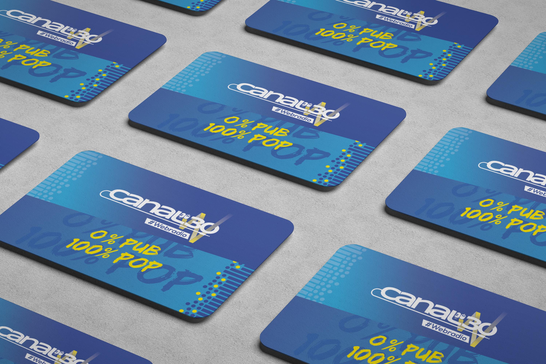 Vue-cartes-visite-concept-agence-communication