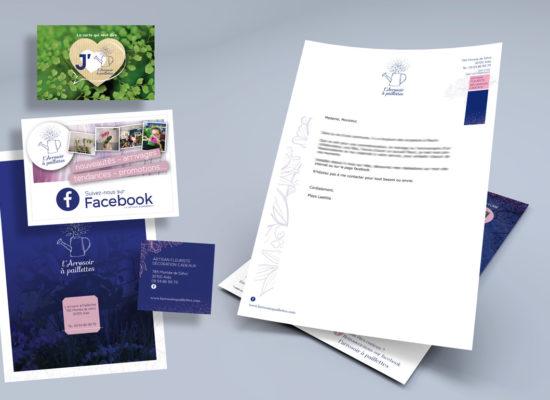 ensemble-documents-branding-l-arrosoir-a-paillettes