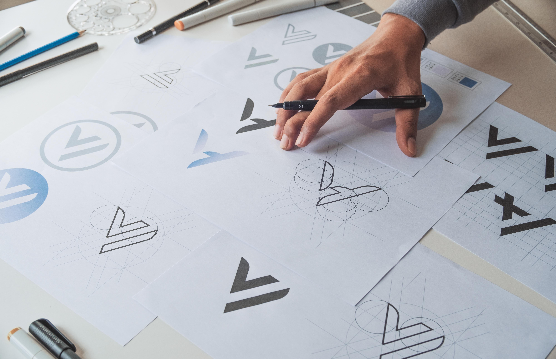 Graphic designer studio Concept. Branding-nimes
