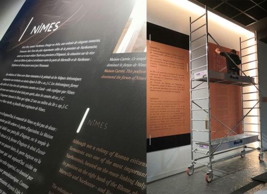 Installation-musée Romanité Nîmes